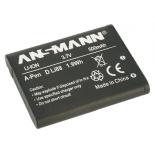 Batterie de camescope type Pentax D-LI88 Li-ion 3.7V 500mAh