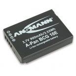 Batterie photo numerique type Panasonic DMW-BCG10E Li-ion 3.7V 8950mAh