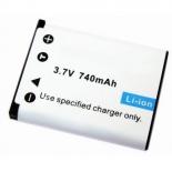 Batterie de camescope type Pentax D-LI108 Li-ion 3.7V 740mAh