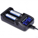 Chargeur d'accus li-ion 3.7V cylindriques Keepower L2