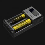 Chargeur d'accus li-ion Lifepo4 NiMh NiCd Nitecore I2eu