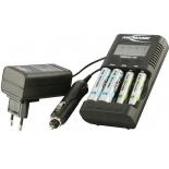 Chargeur testeur de piles rechargeables Ansmann Powerline 4 Pro