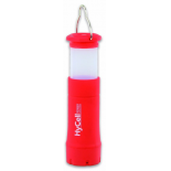 Lanterne et lampe torche de camping HyCell 2IN1 ROUGE