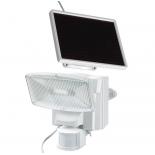 Projecteur solaire à LED Brennenstuhl SOL80 PLUS blanc avec détecteur de mouvement