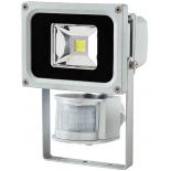 Projecteur exterieur � LED Brennenstuhl 10W 600 lumens IP65 � fixer avec d�tecteur de mouvement