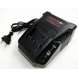 Chargeur pour batteries de type Bosch Li-ion coullissantes (gamme professionnelle bleue) - 3,5A - 14,4V - 18V / Li-Ion