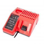 Chargeur d'origine pour batteries BERNER de type Milwaukee coulissantes - 3,0A - 12V - 18V / Li-Ion