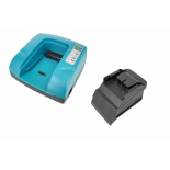 Chargeur pour batteries de type Hitachi coulissantes - 2,1A - 25.2V - 36V / Li-Ion