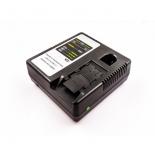 Chargeur pour batteries de type Panasonic coulissantes Li-Ion - 1,5A - 10,8V - 28V / Li-Ion