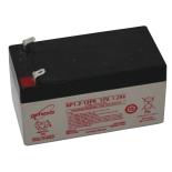 Batterie pour portail motorisé plomb 12V 1.2Ah