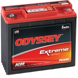 Batterie plomb pur Odyssey 12V PC680 Extreme Racing 25
