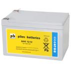 Batterie plomb Gel GiVC12-12 12V 12Ah pour fauteuil roulant