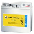 Batterie plomb étanche GiVC12-20 12V 20Ah pour fauteuil roulant