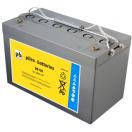 Batterie plomb Gel 12V 100Ah décharge lente