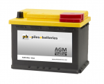 Batterie de démarrage AGM 12V 60Ah / 680A compatible Start and Stop