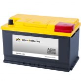 Batterie de démarrage AGM 12V 80Ah / 800A compatible Start and Stop