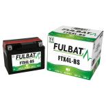 Batterie quad YTX4L-BS étanche 12V / 3Ah