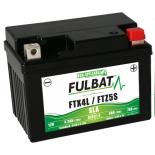 Batterie moto YTX4L-BS étanche AGM 12V / 3Ah