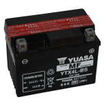 Batterie quad Yuasa YTX4L-BS étanche 12V / 3Ah
