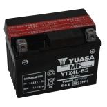 Batterie tondeuse Yuasa YTX4L-BS étanche 12V / 3Ah