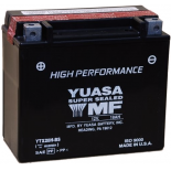 Batterie moto Yuasa YTX20H-BS étanche 12V / 18Ah