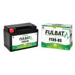 Batterie quad YTX9-BS étanche 12V / 8Ah