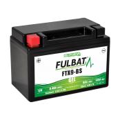 Batterie moto WP9BS / YTX9-BS étanche au gel 12V / 8Ah