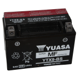 Batterie quad Yuasa YTX9-BS étanche 12V / 8Ah