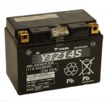 Batterie moto Yuasa YTZ14S étanche AGM  12V / 11.2AH