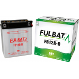 Batterie moto YB12A-B 12V / 12Ah