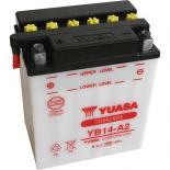 Batterie quad Yuasa YB14-A2 12V / 14Ah