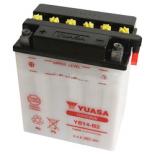 Batterie moto Yuasa YB14-B2 12V / 14Ah
