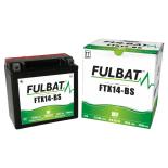 Batterie moto YTX14-BS étanche 12V / 12Ah
