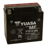 Batterie quad Yuasa YTX14-BS étanche 12V / 12Ah