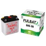 Batterie moto 6N6-3B 6V / 6Ah