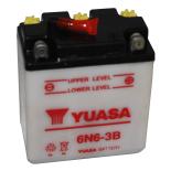 Batterie moto Yuasa 6N6-3B 6V / 6Ah