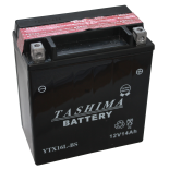 Batterie moto YTX16L-BS étanche 12V / 14Ah