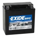 Batterie moto Exide AGM12-12 étanche AGM 12V / 12Ah