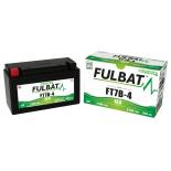 Batterie moto YT7B4 étanche SLA 12V / 6Ah