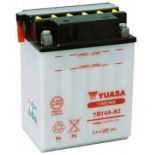 Batterie tondeuse Yuasa YB14A-A2 12V / 14Ah