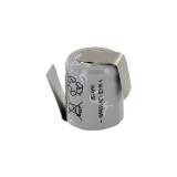 Accu Industriel 1/3 AA 1.2V Ni-Cd 180mAh avec pattes à souder