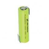Accu Industriel AA / LR6 Haute température 1.2V Ni-Mh 1300mAh avec pattes à souder