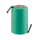 Accu Industriel SubC Haute température 1.2V Ni-Mh 2400mAh avec patte a souder