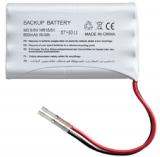 Batterie adaptable Somfy 9001001 - NIMH 9.6V 1500mAh avec connecteur universel