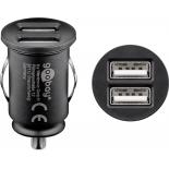 Chargeur USB 2400mA sur prise allume cigare
