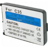 Batterie de téléphone portable pour SIEMENS C35 / M35 / S35 Li-ion 1000mAh