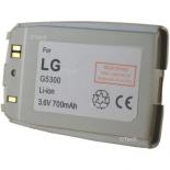 Batterie de téléphone portable pour LG 5300 Li-ion 700mAh