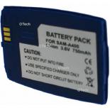 Batterie de téléphone portable pour SAMSUNG A400 blue Li-ion 700mAh