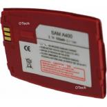 Batterie de téléphone portable pour SAMSUNG A400 red Li-ion 700 / 800mAh
