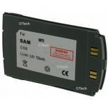 Batterie de téléphone portable pour SAMSUNG C100 Li-ion 700 / 800mAh
